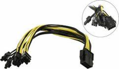 Переходник питания для видеокарт 8pin  EPS12V --> 2x6/8pin PCI-E