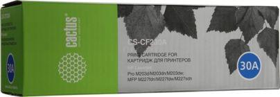 Картридж Cactus CS-CF230A (аналог CF230A) для HP LJ Pro M203d/M203dn/M203dw/M227fdn/M227fdw