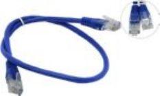 Кабель Patch Cord UTP кат.5e 0,5м   синий