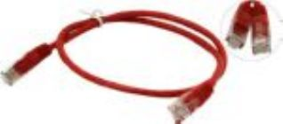 Кабель Patch Cord UTP кат.5e 0,5м   красный