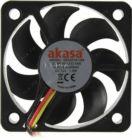 Вентилятор 50x50x10 Akasa AK-5010MS (3пин, 50x50x10мм, 26.09дБ, 4500об/мин)