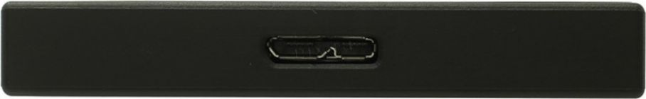 "Жесткий диск EXT USB3.1  1Tb Seagate Backup Plus Slim Portable STHN1000400 Back 2.5"" (RTL)"