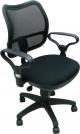 Кресло CH-799AXSN/Black (Спинка черная сетка, сиденье черное 26-28)