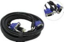 Кабель для KVM переключателей D-Link DKVM-CU5 4,5м.(VGA15M&USB A--VGA15M&USB B)