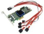 Контроллер PCI-Ex4 Adaptec ASR-3405(RTL) 4-port SAS,RAID 0/1/1E/10/5/5EE/6/JBOD,Cache 128Mb