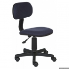 Кресло Ch-201NX/Bl&Blue    (черно-синее 12-191, газлифт)