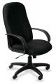 Кресло руководителя T-898AXSN/Black (черная ткань 8011) нагрузка до 120 кг.