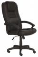 Кресло руководителя T-9906AXSN   (чёрная кожа)