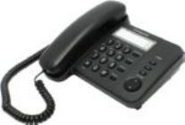 Телефон Panasonic KX-TS 2352RUB (черный)