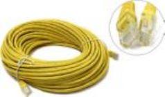 Кабель Patch Cord UTP кат.5e  20м жёлтый