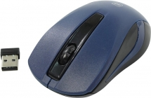 Мышь Defender Wireless Optical Mouse MM-605 Blue (RTL) USB 3btn+Roll 52606