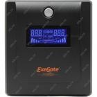 ИБП(UPS) Exegate 1500VA Power  ULB-1500 LCD 212520,900 Ватт/защита телефонной линии/RJ45, USB