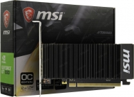 В/к PCI-E 2Gb DDR GF GT1030 MSI GT 1030 2GHD4 LP OC (RTL) HDMI+DP  DDR4 64bit