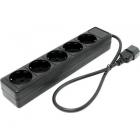 Сетевой фильтр  (0,5м)  SVEN Special Base Black  ( 5 розеток, вход IEC320-C14)  (удлиняемый)