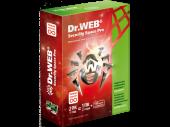 Антивирусная прогр. Dr.Web Security Space на 12 месяцев,на 2 ПК (в фирменной картонной коробке)