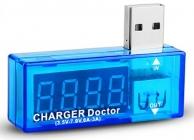 Измеритель напряжения и тока заряда по USB  Charger Doctor
